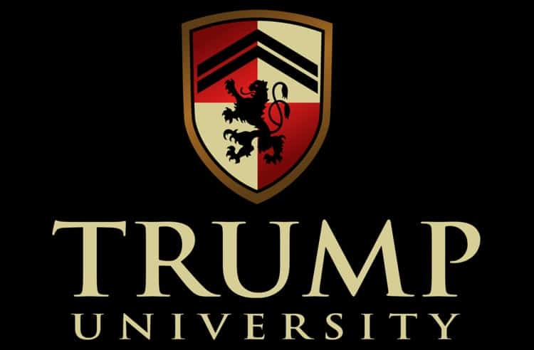 Logo of Trump University