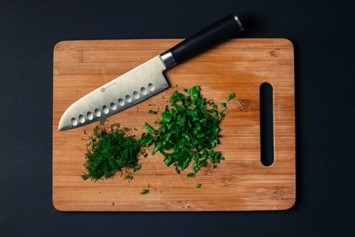 Knife & Chopping Board