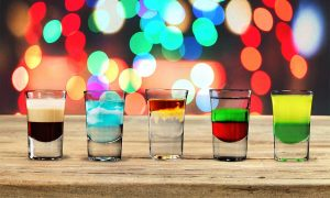 Best shots & Shooter recipes - A picture of 5 great shots
