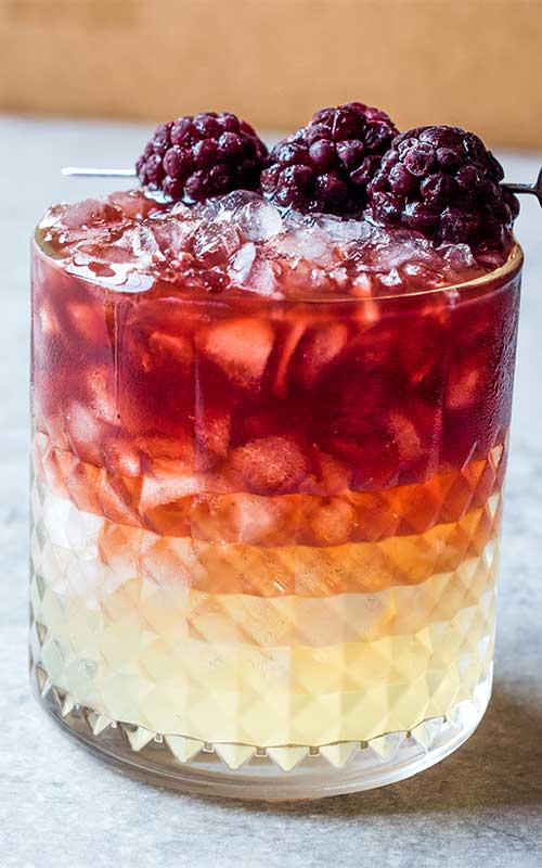 How to make a Bramble Cocktail