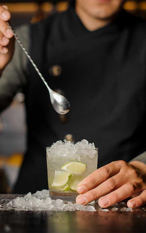 Cocktail Caipiroska