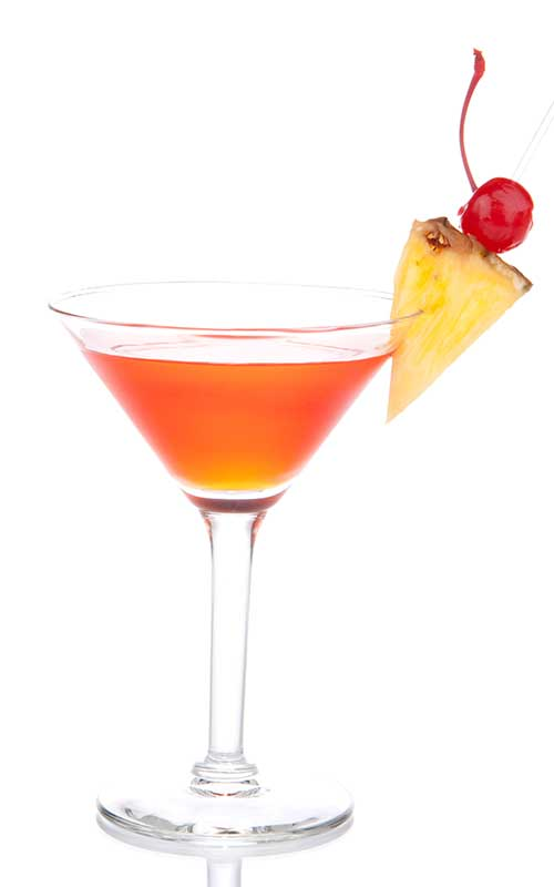 How to make a French Martini Cocktail