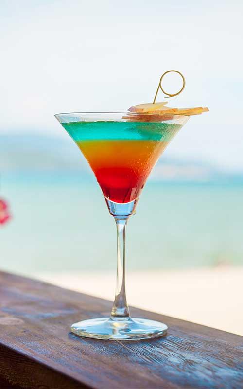 Pousse Cafe Cocktail