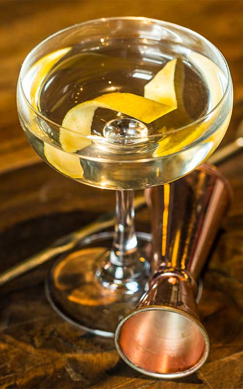 How to make a Vesper Martini Cocktail